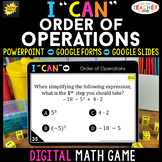 Order of Operations DIGITAL Game | Evaluating Expressions