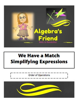 Order of Operations - Differentiated