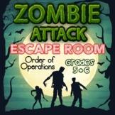 Order of Operations Digital Escape Room Grades 5 + 6 Skill