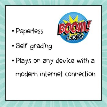 Order of Operations Digital Interactive Boom Cards