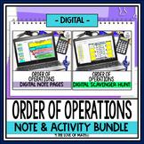 Order of Operations Digital Bundle for Google Slides™ Dist