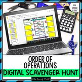 Order of Operations Digital Scavenger Hunt for Google Drive™
