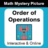Order of Operations - Distance Learning - Digital Math Mys