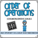 Order of Operations Room Transformation