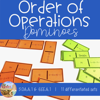 Order of Operations Dominoes - 5th Grade CCSS