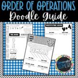 Order of Operations Doodle Guide; Algebra 1