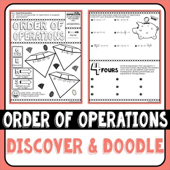 Order of Operations Discover & Doodle