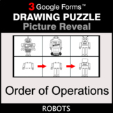 Order of Operations - Drawing Puzzle   Google Forms
