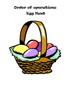 Order of Operations Egg Hunt