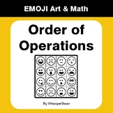 Order of Operations - Emoji Art & Math - Draw by Number |