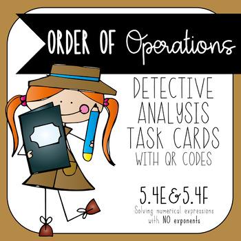 Order of Operations Error Analysis 5.4E 5.4F