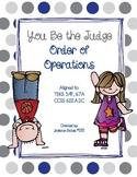 Order of Operations - Error Analysis - Gr. 6