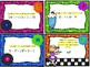 Order of Operations & Exponents Task Cards