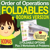 Order of Operations - FOLDABLES & More - BODMAS Version