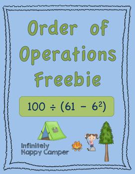 Order of Operations *FREEBIE*