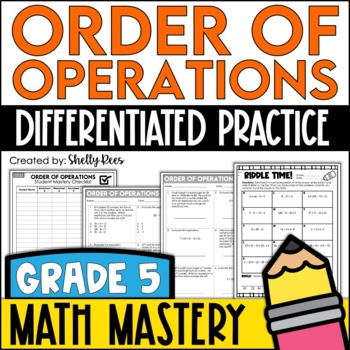 Order Of Operations Worksheets By Shelly Rees Teachers Pay Teachers