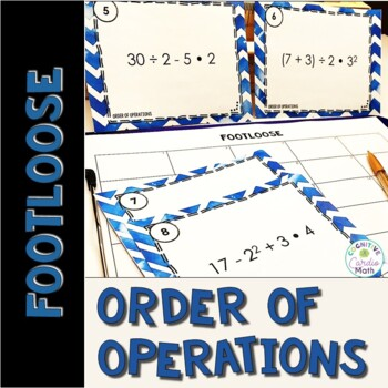 Order of Operations Task Ca... by Middle School Math Moments ...