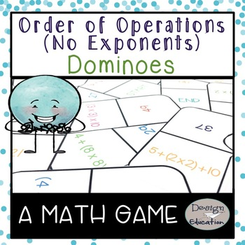 Order of Operations Game Dominoes (No Exponents)