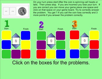 Order of Operations Game - Smartboard