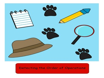 Order of Operations Game/Task Cards/Assessments