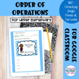 Order of Operations Google™ Forms