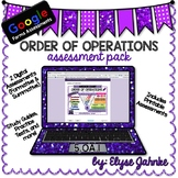Order of Operations Google Forms Assessment Pack - 5.OA.1