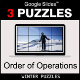 Order of Operations - Google Slides - Winter Puzzles