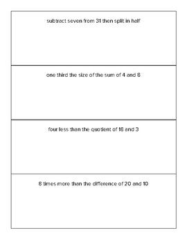 Order of Operations Grade 5 Unit with 9 Lessons! (2 weeks of instruction!)