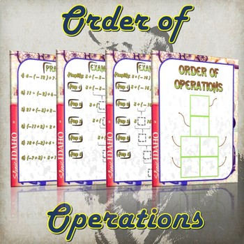 Order of Operations - (Guided Notes and Practice)