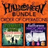 Order of Operations Halloween Bundle