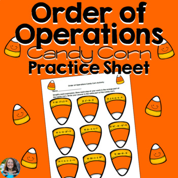 Order of Operations Halloween Candy Corn Activity