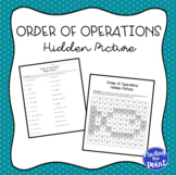 Order of Operations Hidden Picture Activity