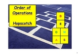 Order of Operations Hopscotch