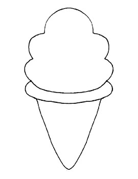 Order of Operations Ice Cream Cone Math Craft