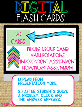 Order of Operations Integer Flash Cards