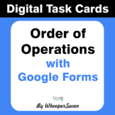 Order of Operations - Interactive Digital Task Cards - Goo