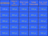 Order of Operations Jeopardy