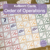 Order of Operations | KaBoom Cards