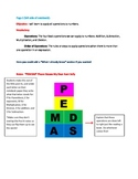 Order of Operations-Lesson and Interactive Journal Pg./Notes