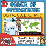 Order of Operations Leveled Activity The Exciting Excursio