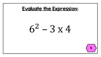 Order of Operations - Leveled Task Cards