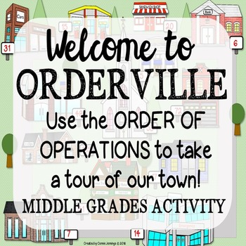 Order of Operations Map Activity