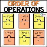 Order of Operations [Matching Puzzle Pieces]