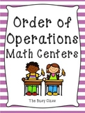 Order of Operations Math Centers
