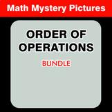 Order of Operations - Math Coloring Worksheets BUNDLE