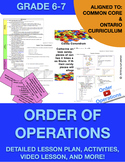 Order of Operations Math Lesson Plan - Interactive and Engaging