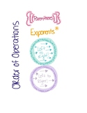 Order of Operations Math Notebook Page