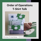 Order of Operations Math.: T-Shirt Talk