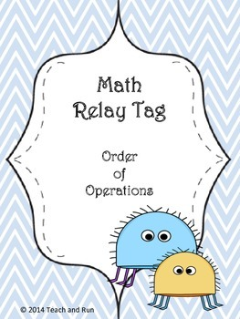 Order of Operations Math Tag