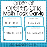 5th Grade Order of Operations Task Cards | Order of Operat